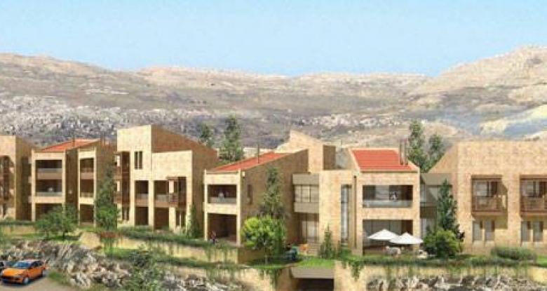 Oakridge chalets faraya modern house parquet in for Modern house lebanon